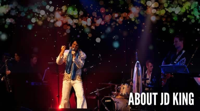 JD King Elvis impersonator Jim Devereaux about