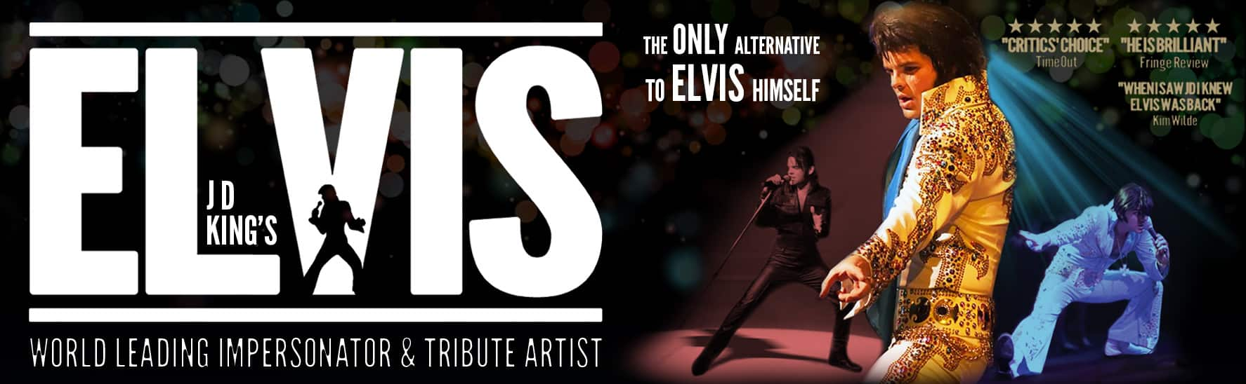 Elvis Impersonator JD King – World's Highest Rated Elvis Tribute Artist