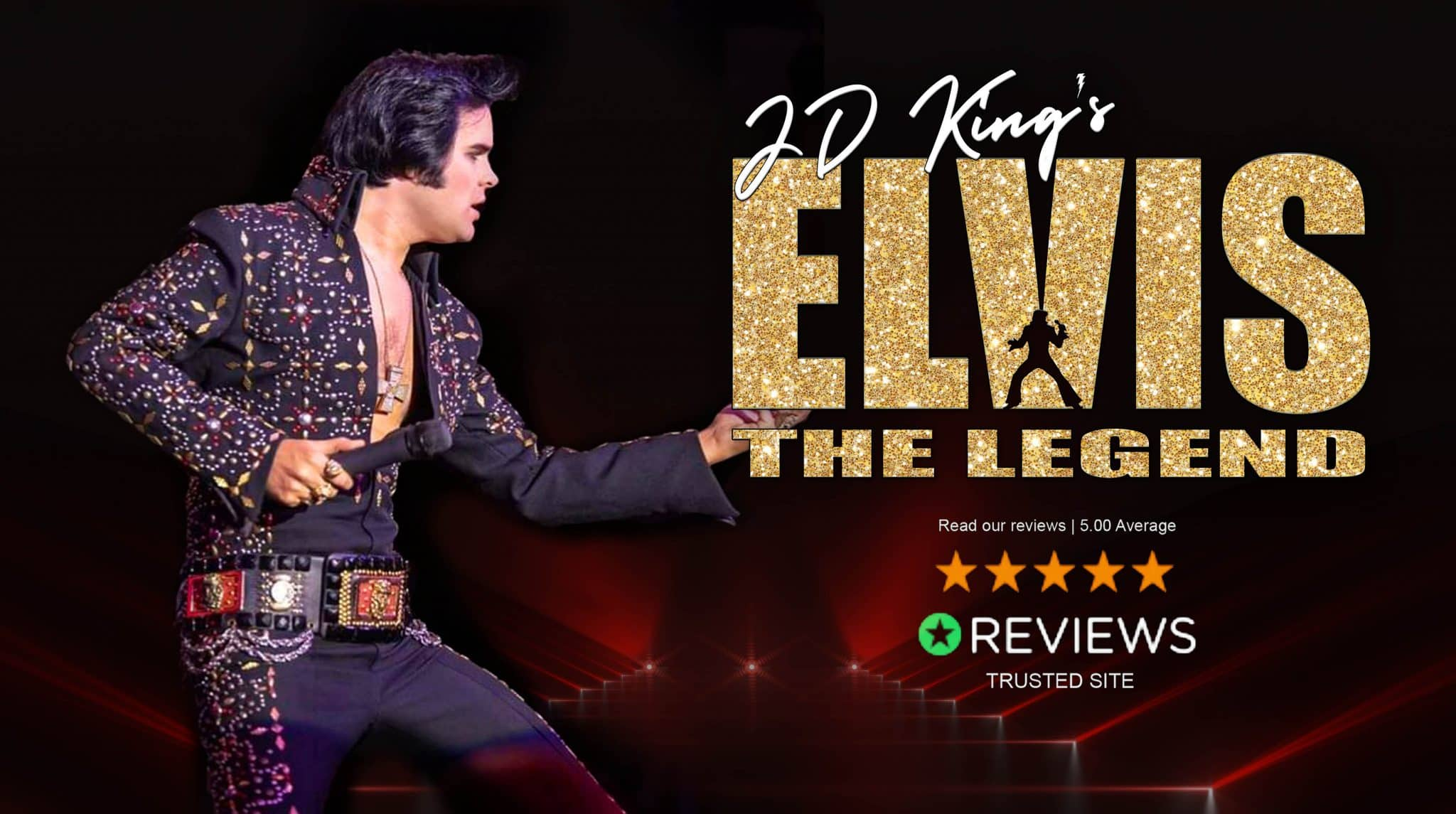 JD King's ELVIS The Legend reviews