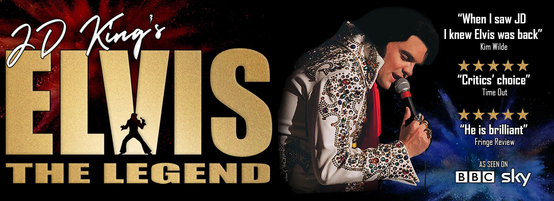 JD King | World Leading Elvis Tribute Artist & Impersonator